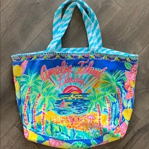 NWOT Lilly Pulitzer beach bag 🏖